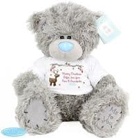Personalised Me To You Bear with Reindeer T-Shirt - ideal gift for a young child or baby this Christmas